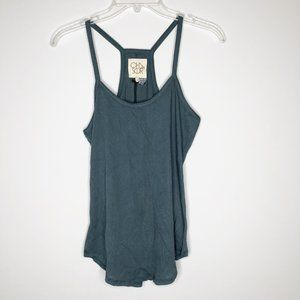 CHASER Racerback Shirttail Tank Top
